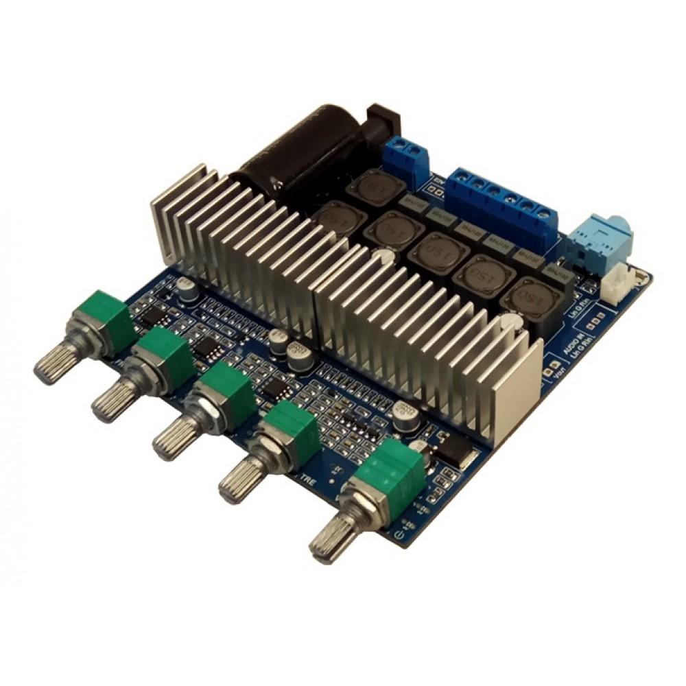 Tpa3116 2x50w And 1x100w Audio Amplifier Bass Treble Control Hi Fi Circuit