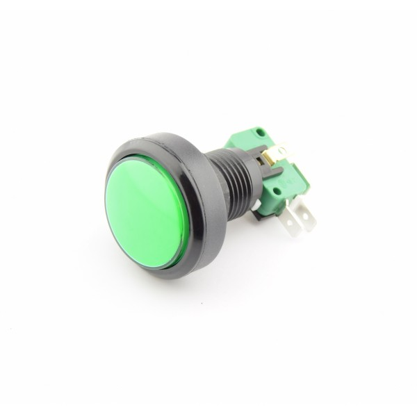 Large Green Push button 24mm of 40mm - Reset