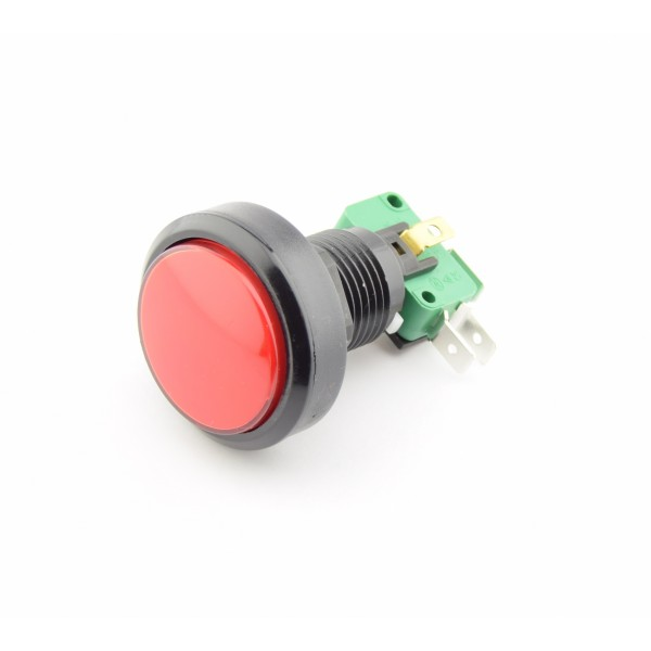 Large Red Push button 24mm of 40mm - Reset
