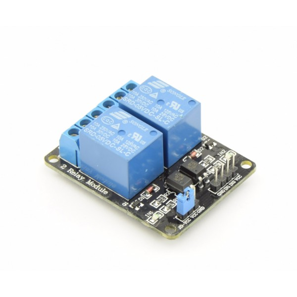 5V relay 2-channel low-active