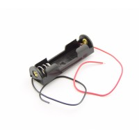 1x AA Battery Holder with Loose Wires