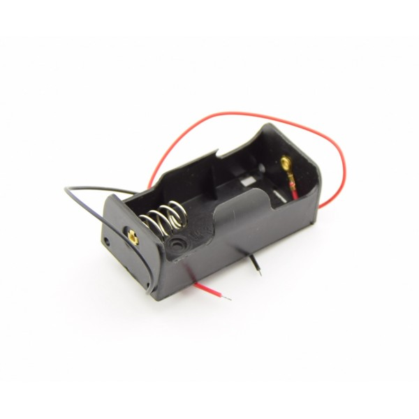 1x C Battery Holder with Loose Wires
