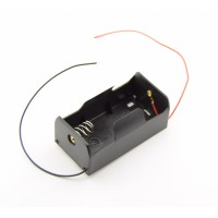 1x D Battery Holder with Loose Wires