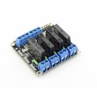 5V Solid State Relay 4-channel low-active - 2A
