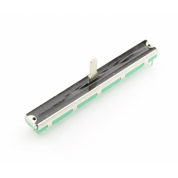 10kΩ Slide Audio potmeter 2-kanaals - 75mm