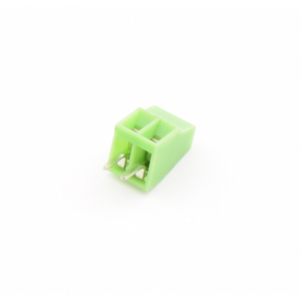 2 Pin Schroef Terminal Block Connector 2.54mm Afstand