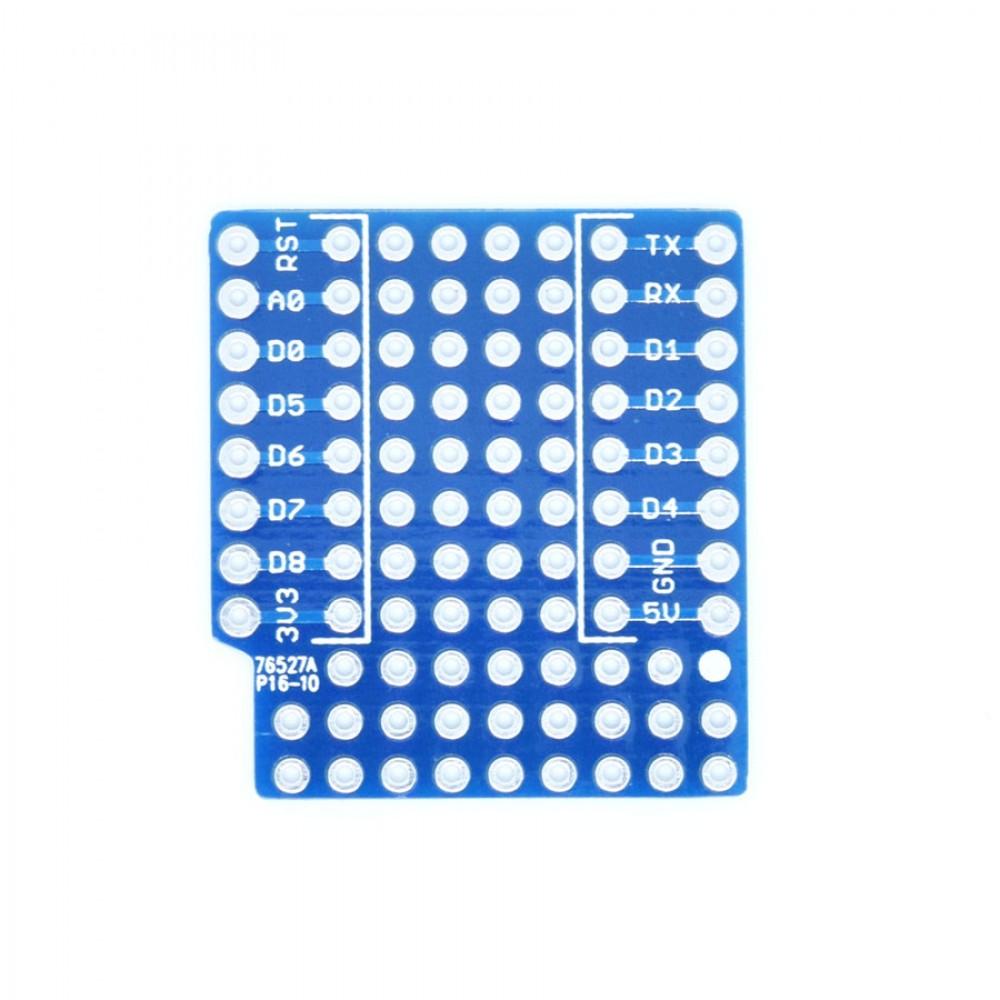 Wemos ProtoBoard Shield voor D1 Mini