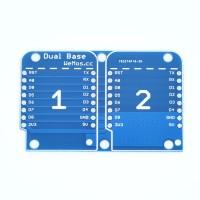 Wemos Dual Base voor D1 Mini