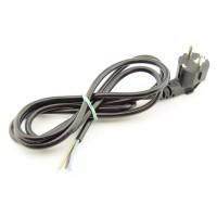 Standaard 230V Voedingskabel - 1.8m - Haakse stekker