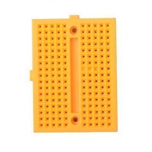 Breadboard 170 points - Yellow