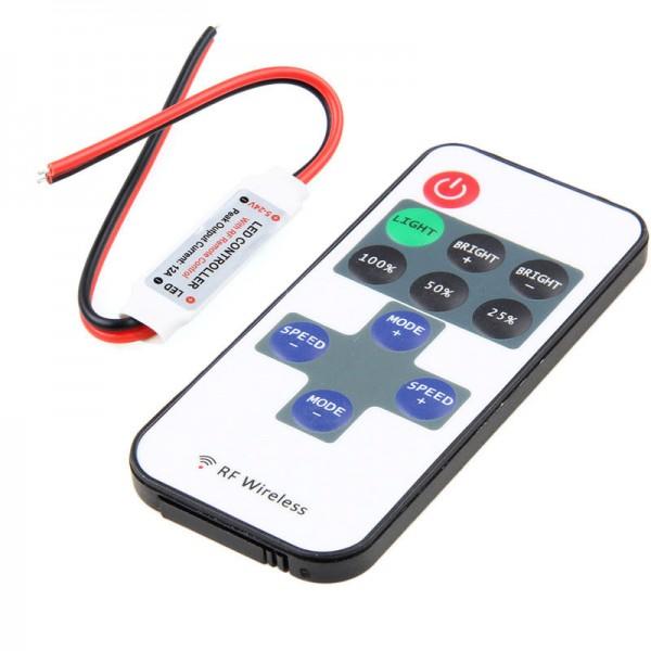 Draadloze LED Dimmer controller - 433Mhz - 5-24V
