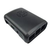 Raspberry Pi 2-3(B) Behuizing - Zwart - Optie voor ventilator