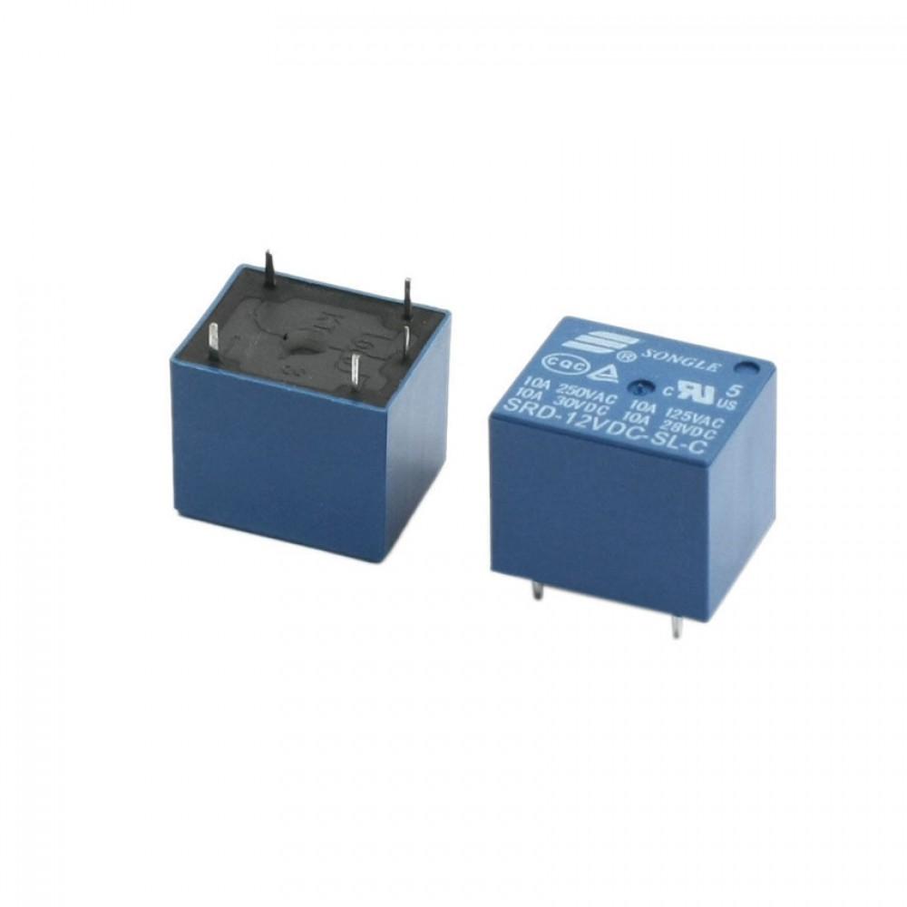 Relay 12V - 250VAC 10A - SRD-12VDC-SL-C