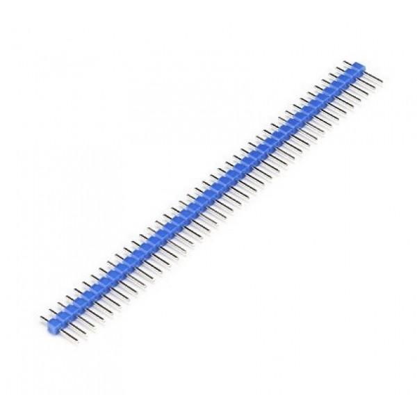 40 Pins header Male - Blue
