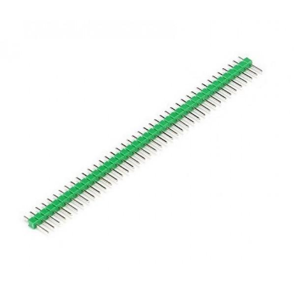 40 Pins header Male - Green