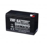 VMF 12V 7.0Ah Loodaccu - 4.8mm connector