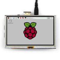 5 inch TFT-LCD Display 800*480 pixels met Touchscreen - Raspberry Pi Compatible